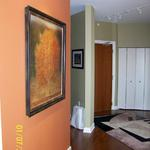 After picture of painted room we also consulted on paint colors